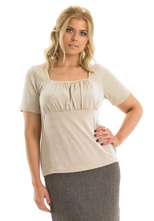 Square Neck Slinky Top