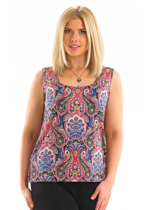 Classic Paisley Print Camisole
